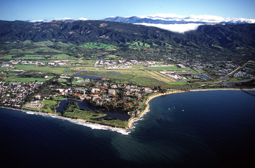 UCSB Aerial Photograph